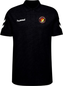 EUFC, Go Cotton Polo by hummel. Available now from Andreas Carter Sports.