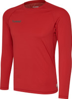 EUFC, Performance Long Sleeve Kids Baselayer by hummel. Available now from Andreas Carter Sports.