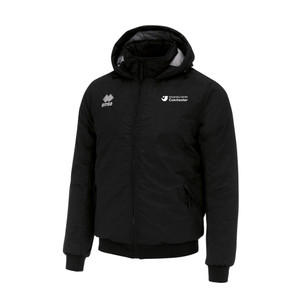 University of Colchester, BSc in Sports Coaching Jacket by Errea. Available now from Andreas Carter Sports.