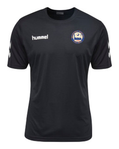 Braintree Town FC, Managers Tee by hummel. Available now from Andreas Carter Sports.