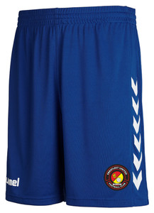 EUFC, 3rd Goalkeeper Short by hummel. Available now from Andreas Carter Sports.