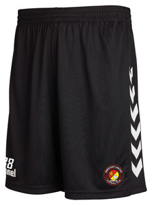 EUFC, Scholars Core Training Short by hummel. Available now from Andreas Carter Sports.