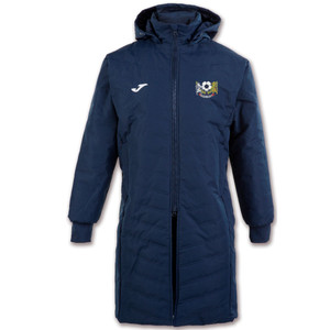 Cornard United YFC, Winter Bench Coat by Joma. Available now from Andreas Carter Sports.