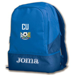 COrnard United YFC, Rucksack with Boot Compartment by Joma. Available now from Andreas Carter Sports.