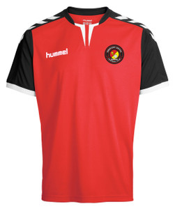 EUFC, Core Training Shirt by hummel. Available now from Andreas Carter Sports.