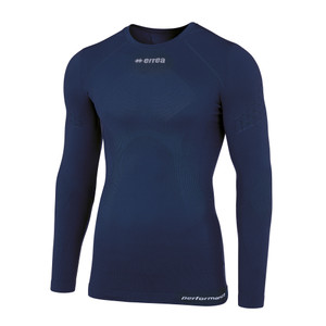 Davor, Junior Long Sleeve Compression Top by Errea. Available now from Andreas Carter Sports.