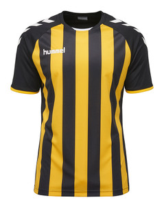 hummel, Junior Core Striped SS Jersey by hummel. Available now from Andreas Carter Sports.