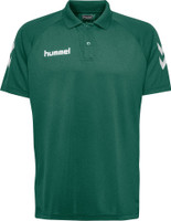hummel, Core Hybrid Polo by hummel. Available now from Andreas Carter Sports.