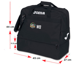 West Bergholt FC, Training Bag by Joma. Available now from Andreas Carter Sports.