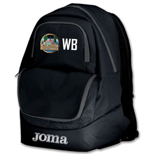 West Bergholt FC, Rucksack by Joma. Available now from Andreas Carter Sports.
