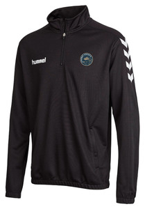Stanway Athletic, 1/2 Zip Training Top 2020/21 by hummel. Available now from Andreas Carter Sports.