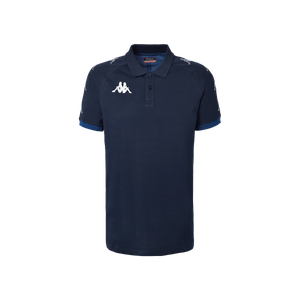 Kappa, Caldes Leisure Polo by Kappa. Available now from Andreas Carter Sports.