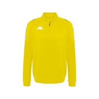Kappa, Novare Training 1/4 Zip Sweat by Kappa. Available now from Andreas Carter Sports.