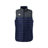 Kappa, Dattilo Gilet by Kappa. Available now from Andreas Carter Sports.