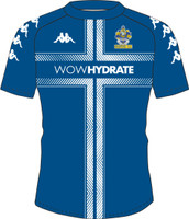 Romford FC, Academy Matchday Jersey by Kappa. Available now from Andreas Carter Sports.