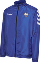 EUFC, Junior Rain Jacket by hummel. Available now from Andreas Carter Sports.