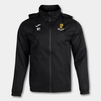 Wivenhoe Town Black Water Resistant Rain Jacket Junior