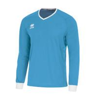 Errea Lennox Long Sleeve Shirt XL Cyan