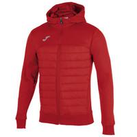 Joma Berna Hooded Jacket Adult Red