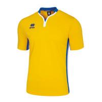 Errea Eiger Shirt Junior Yellow/Blue/White