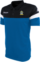 Romford FC Polo Shirt Blue Nautic/Black