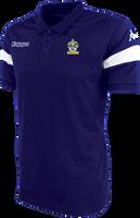 Romford FC Polo Shirt Blue Marine/White