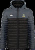 Romford FC Puffer Jacket Black/Grey