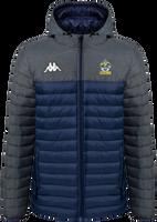 Romford FC Puffer Jacket Marine/Grey