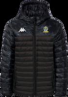 Romford FC Puffer Jacket Black Camo
