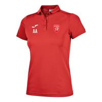 Essex Blades Women's Polo Shirt Red