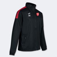 Essex Blades Rain Jacket Black Red