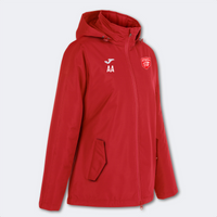 Essex Blades Women's Rain Jacket Red