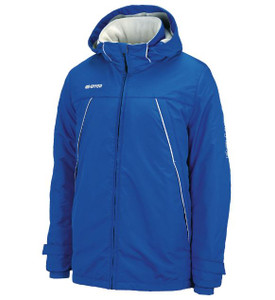 Iceland Coat by Errea. Available now from Andreas Carter Sports.