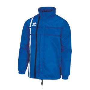 Mitchell Rain Jacket by Errea. Available now from Andreas Carter Sports.