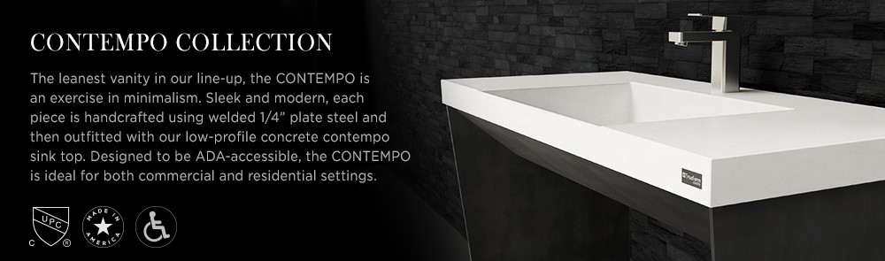 Contempo Sinks & Vanities Collection