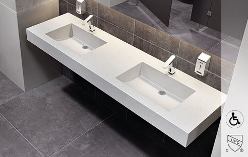 Floating & Wall-Hung Sinks