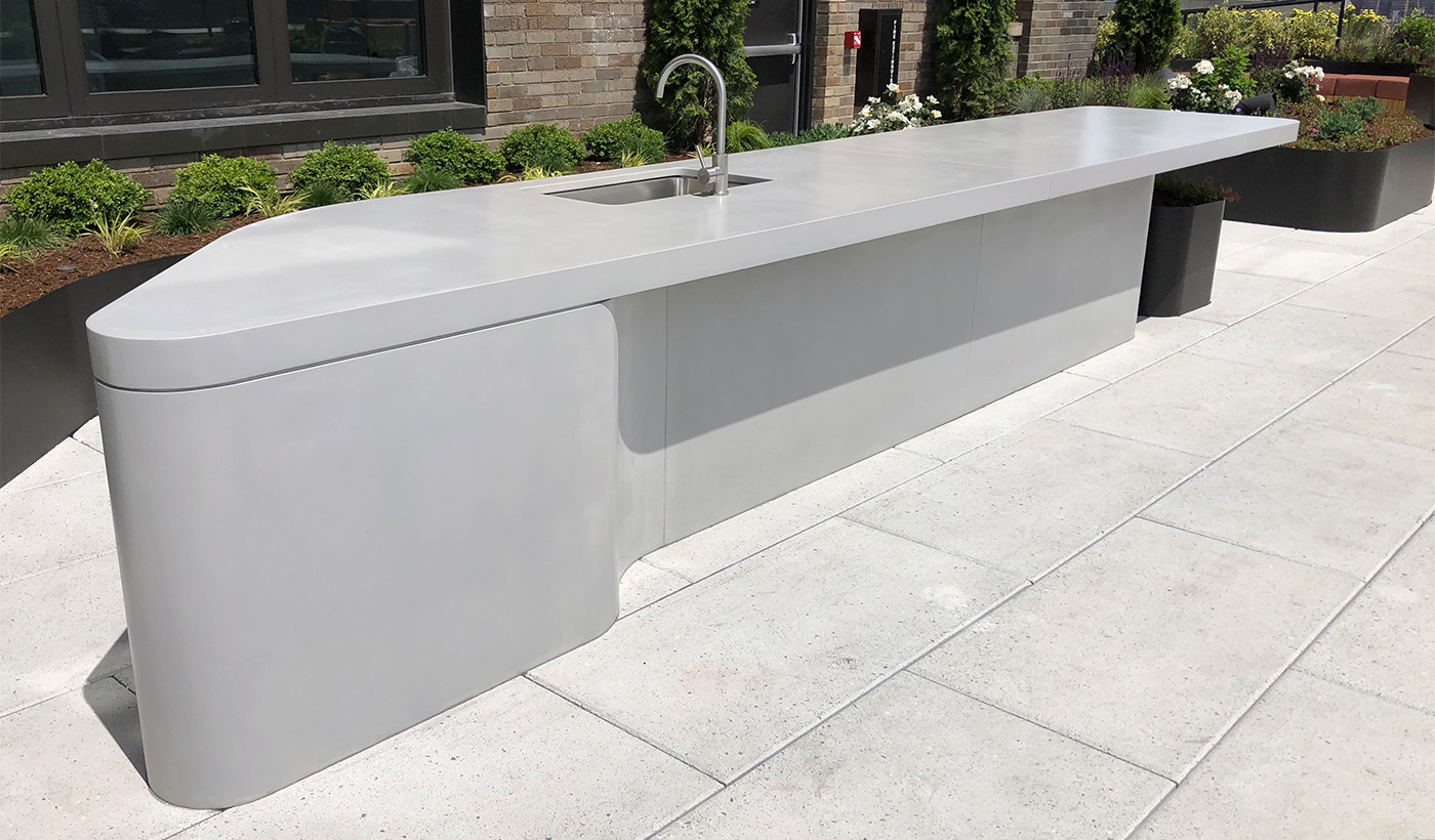 Concrete Countertops by Trueform Concrete
