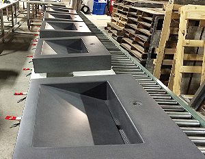 Trueform Concrete Custom Kitchen Sinks