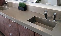 Trueform Concrete Custom Concrete Bathroom Sink, Customize your sink project.