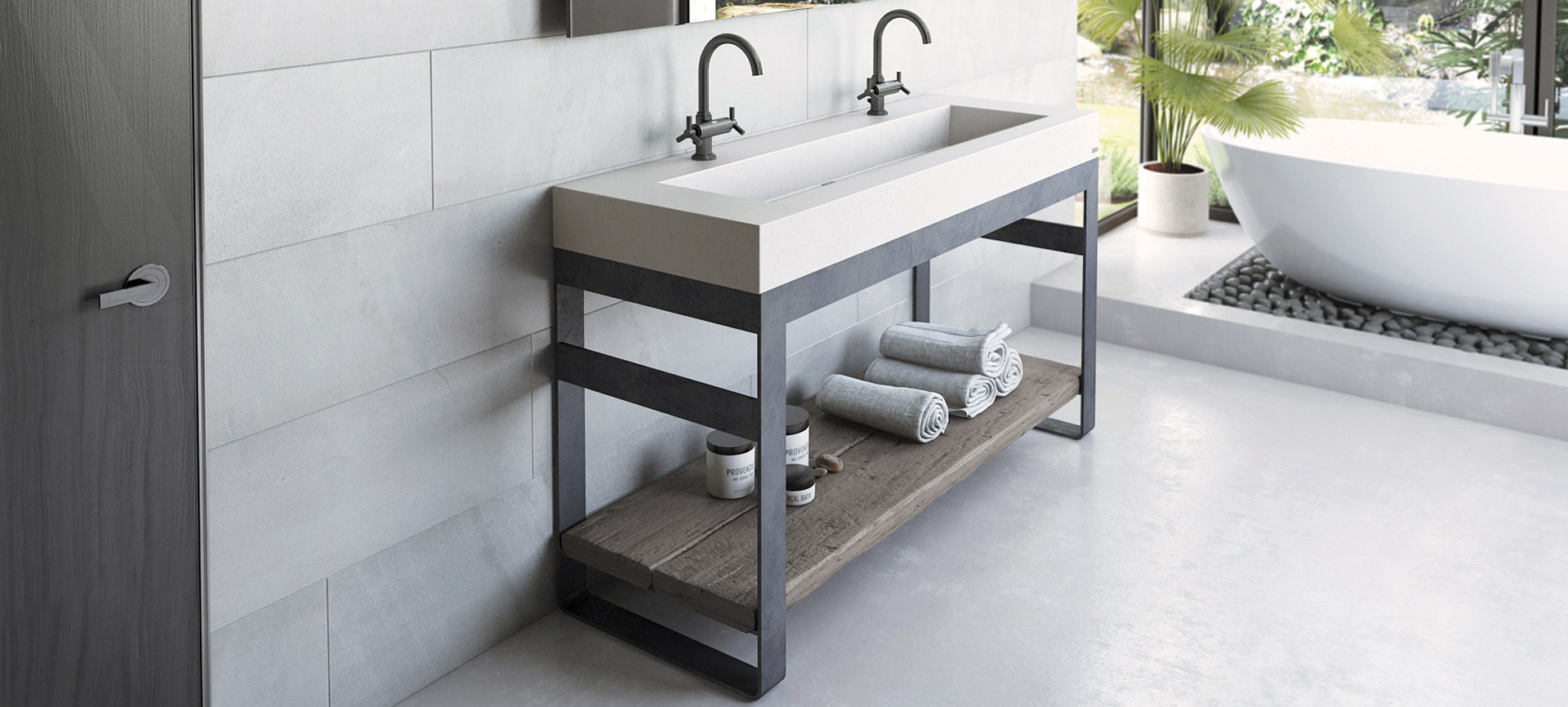 Outland Concrete Sink