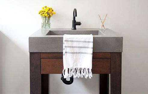 Concrete Sinks & Vanities