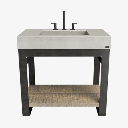 Concrete Vanities & Washstands