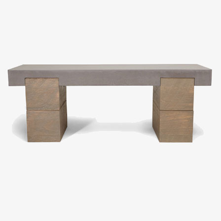 Concrete architectural furnishings
