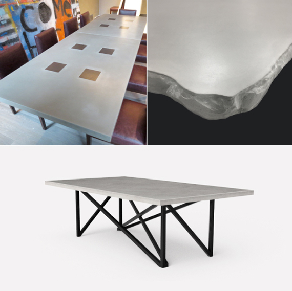 Concrete Table Gallery