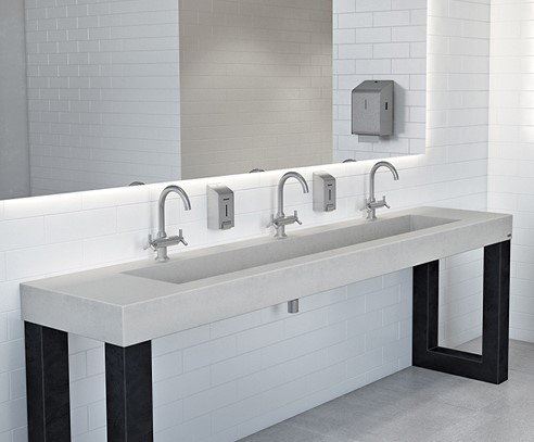 Zen Commercial Washstands