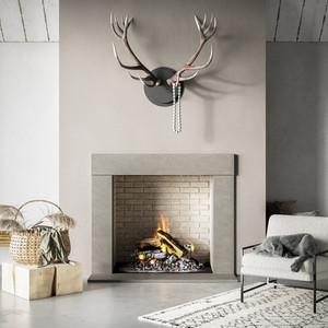 Trueform Beam Concrete Fireplace Surround.