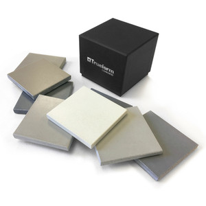 "Trueform Concrete Sample Set in ""Classic"" finish"