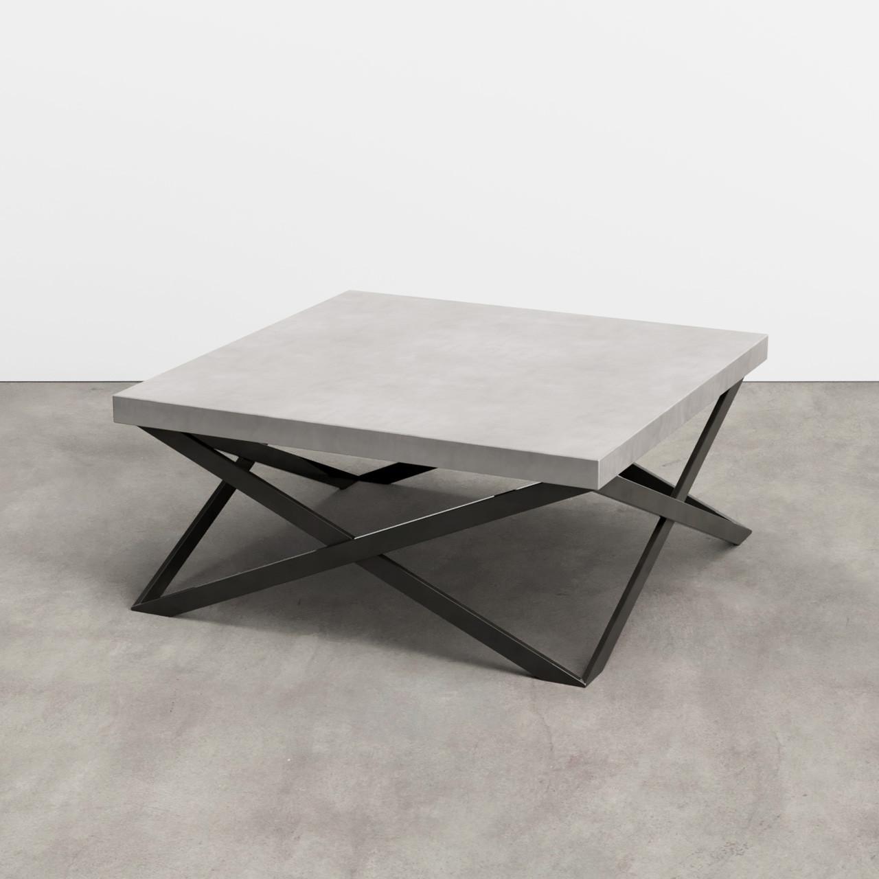 Mobius Concrete Coffee Table Trueform Concrete