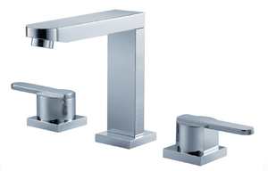 Trueform Concrete - Fluid Wisdom Dual Handle Lavatory Tap