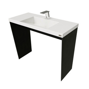 "40"" CONTEMPO VANITY WITH RAMP SINK"